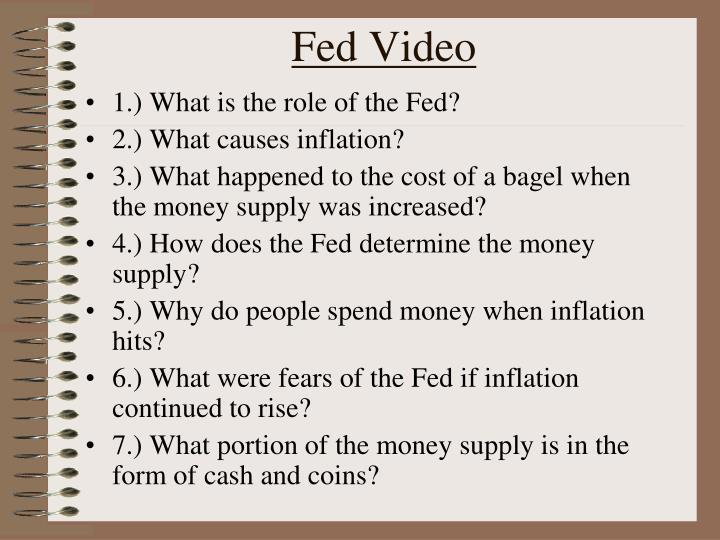 Fed video