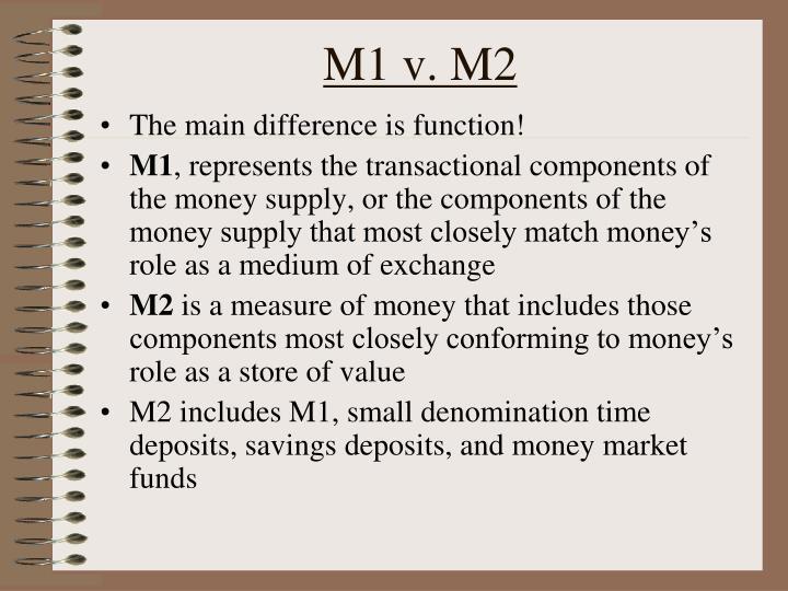 M1 v. M2