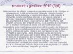 resoconto gestione 2010 3 6
