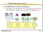 cim framework cont15