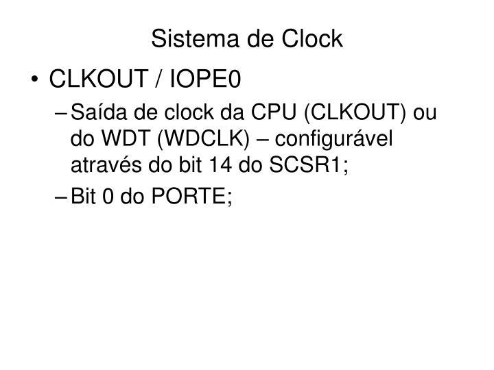 Sistema de Clock