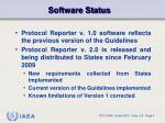 software status