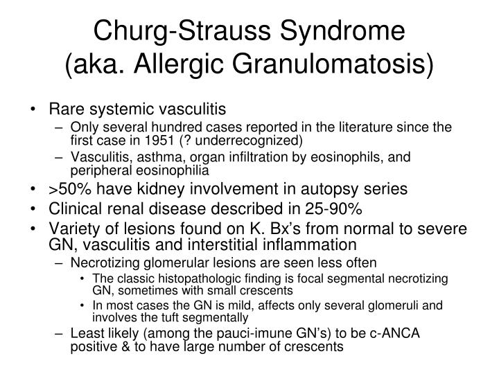 Churg-Strauss Syndrome