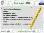 environment ii