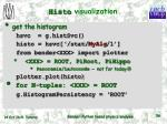 histo visualization