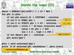 inside the loops ii