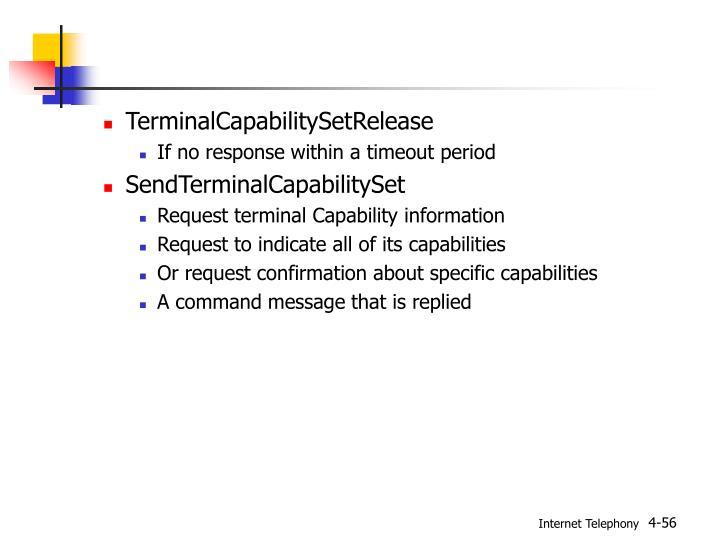 TerminalCapabilitySetRelease