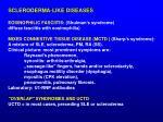 scleroderma like diseases