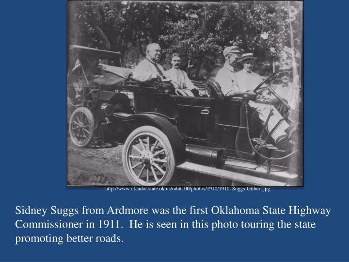http://www.okladot.state.ok.us/odot100/photos/1910/1910_Suggs-Gilbert.jpg