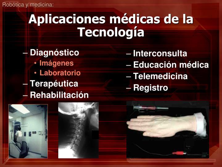 Robótica y medicina: