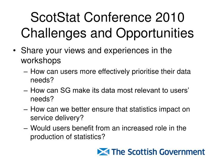 ScotStat Conference 2010