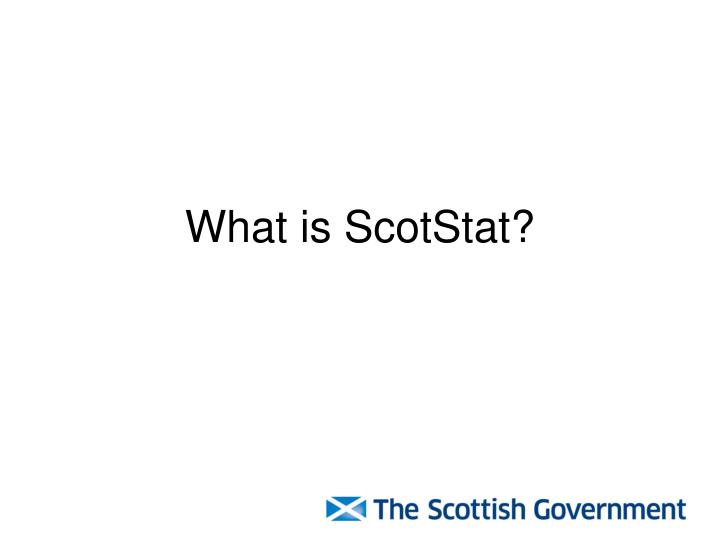 What is scotstat