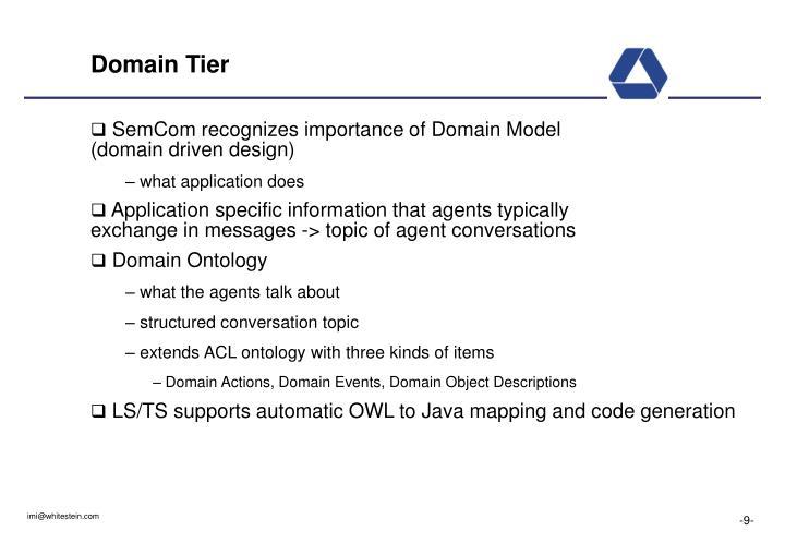 Domain Tier