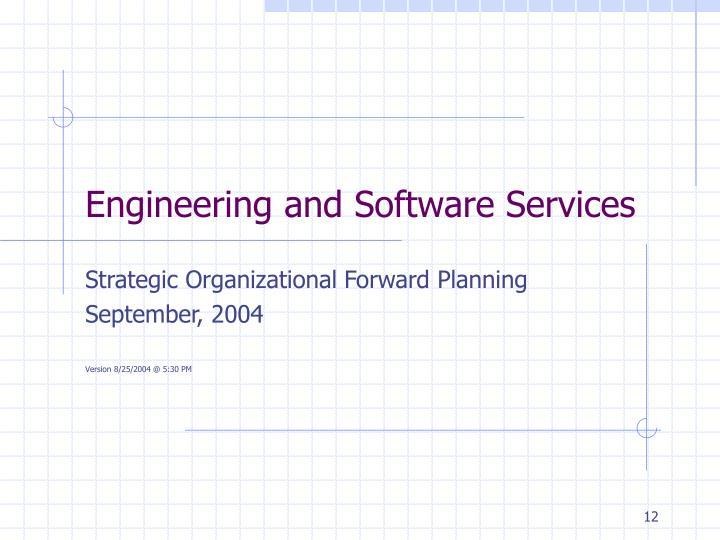 Engineering and Software Services