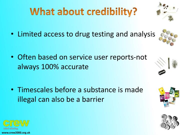 What about credibility?