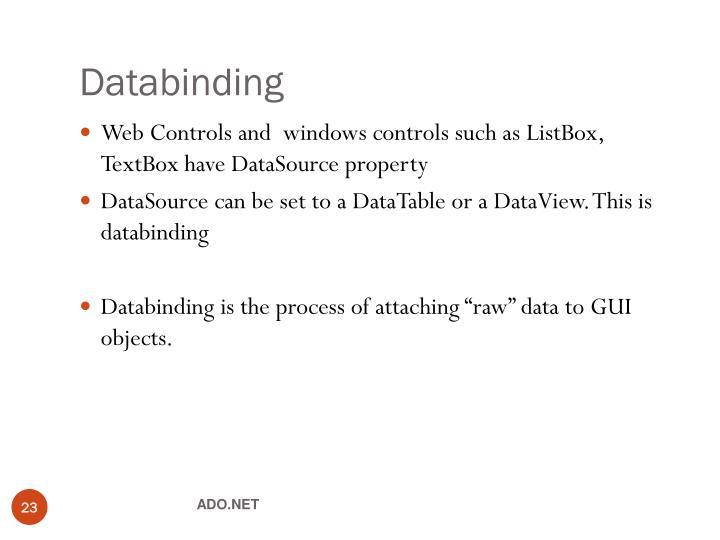 Databinding