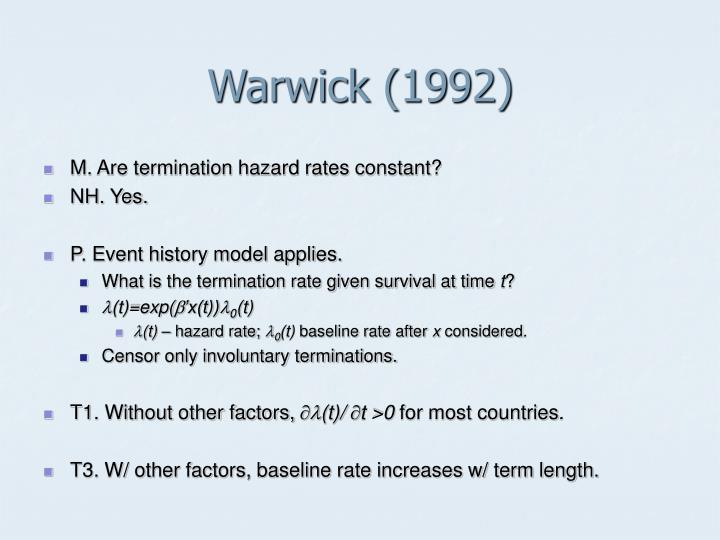 Warwick (1992)