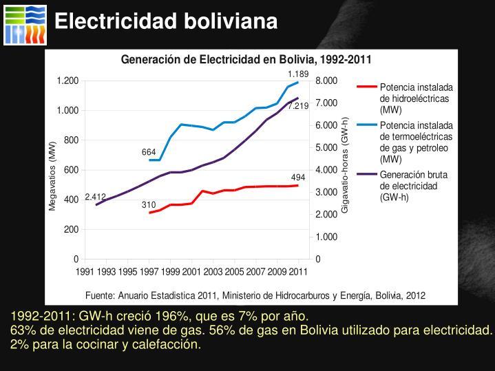 Electricidad boliviana