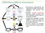 dsm based mdaa instantiation