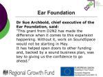 ear foundation