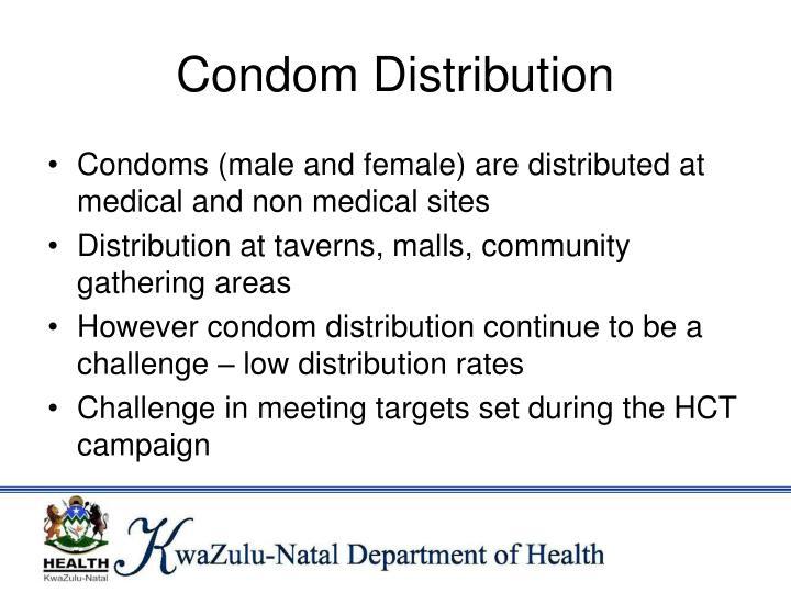 Condom Distribution