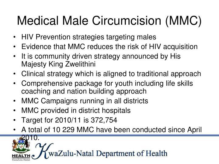 Medical Male Circumcision (MMC)