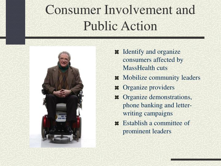 Consumer Involvement and Public Action