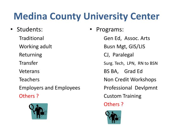 Medina County University Center