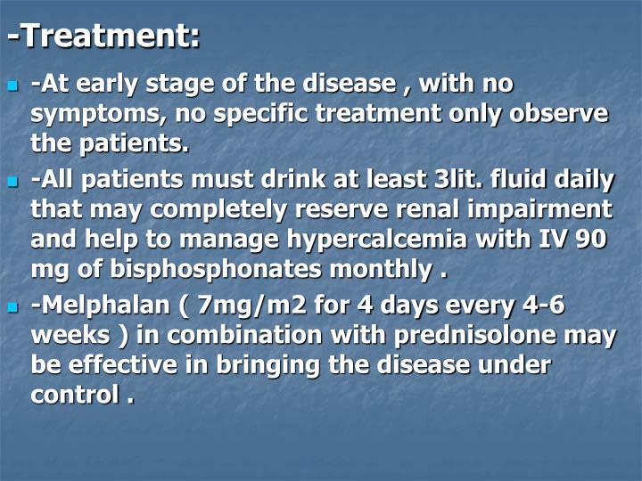 -Treatment: