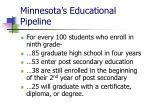 minnesota s educational pipeline