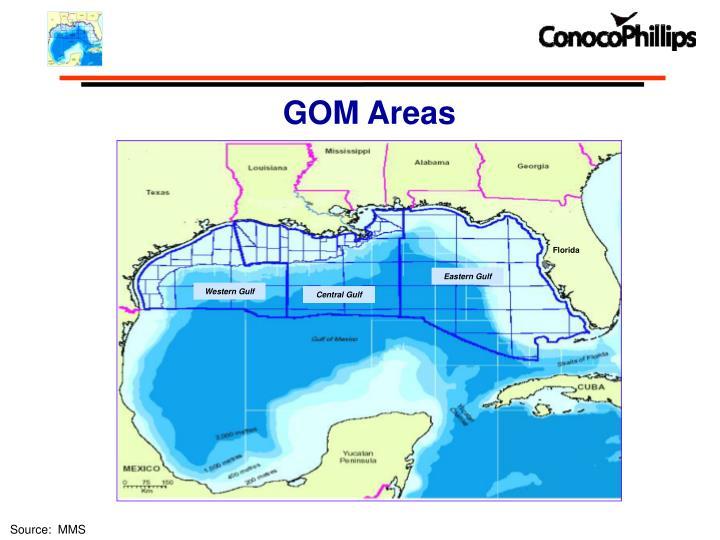 GOM Areas
