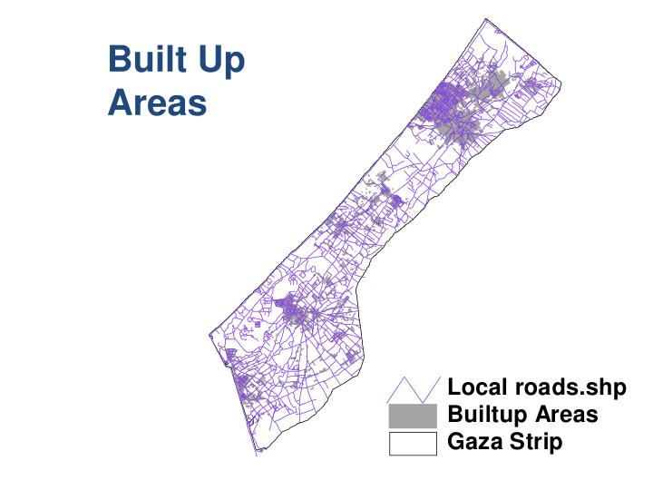 Built Up Areas