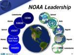 noaa leadership
