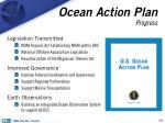 ocean action plan progress