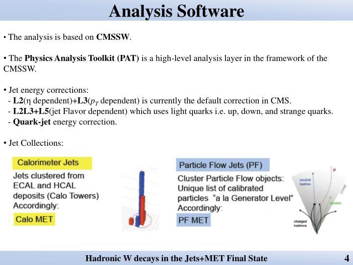Analysis Software