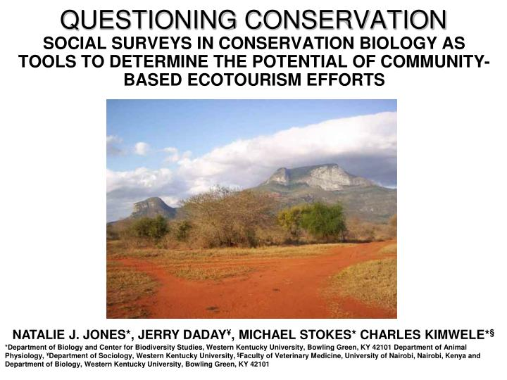 questioning conservation n.