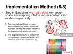 implementation method 6 8