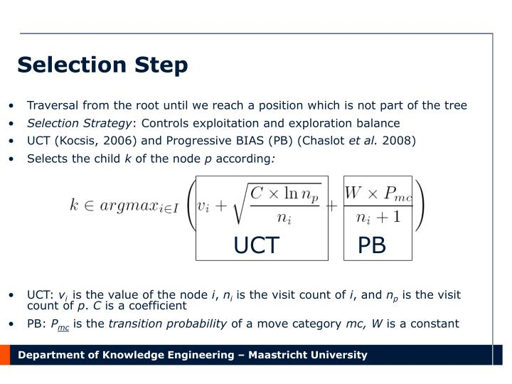 Selection Step