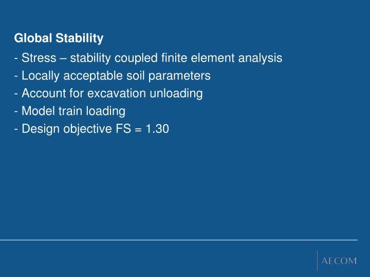 Global Stability