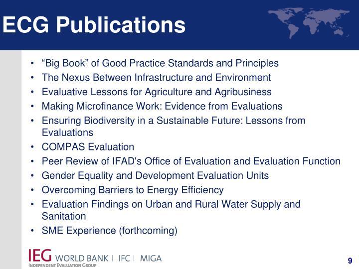 ECG Publications