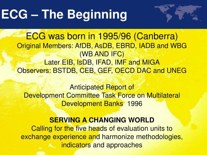 Ecg the beginning