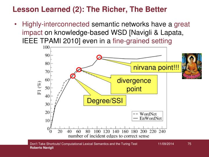 Lesson Learned (2): The Richer, The Better