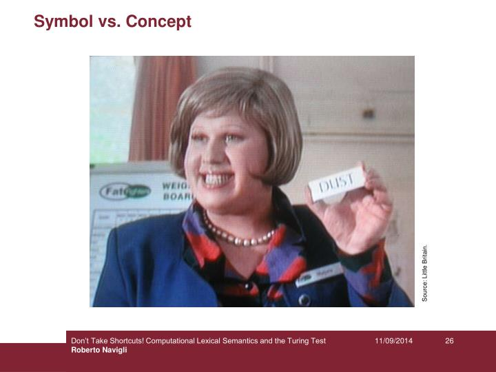 Symbol vs. Concept