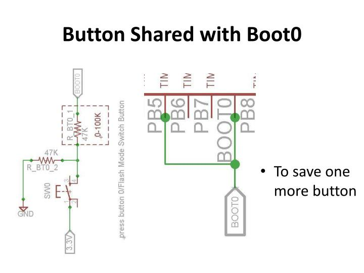 Button Shared with Boot0