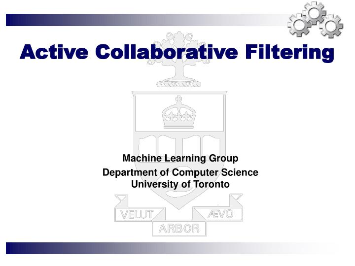 active collaborative filtering n.