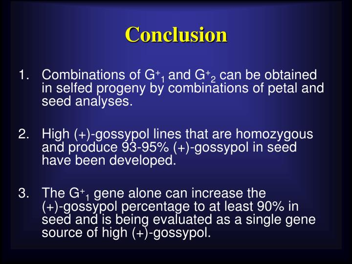 Combinations of G