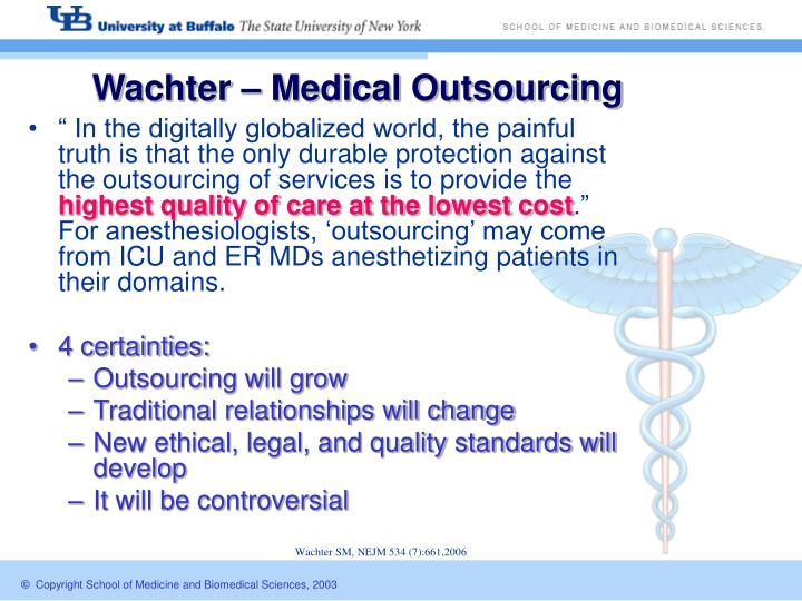 Wachter – Medical Outsourcing