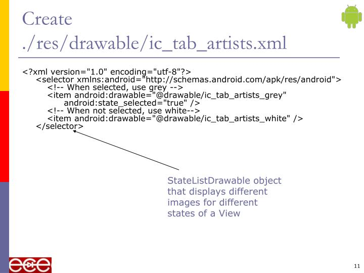 Create ./res/drawable/ic_tab_artists.xml