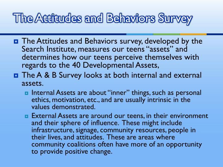 The Attitudes and Behaviors Survey