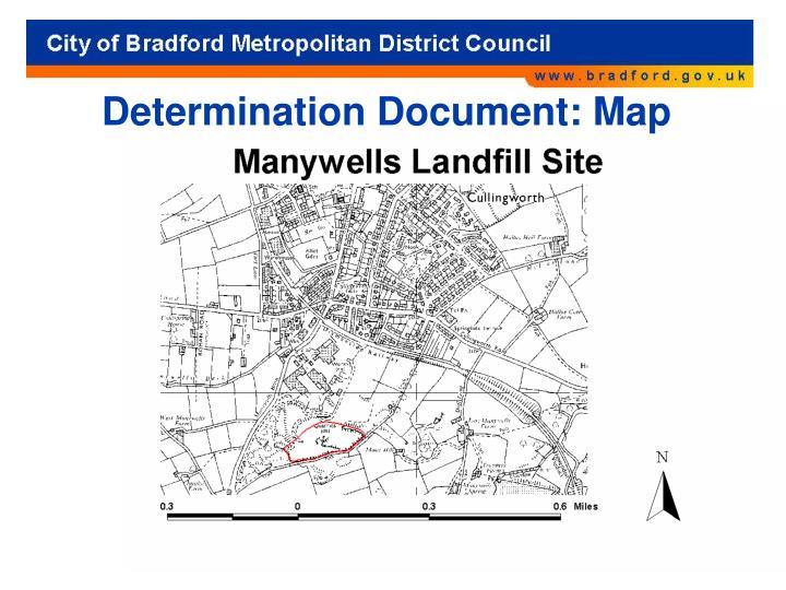 Determination Document: Map